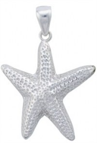 Charles Albert Sterling Silver Star Fish Pendant