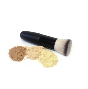 Nardo Naturals mini flat blended brush