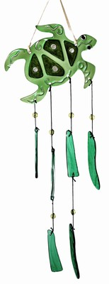 Glass SeaTurtle Wind Chime
